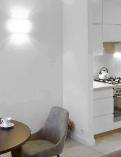 projektanci wnętrz 007 Metamorfoza Metamorfoza MG Architekci zdjęcia z realizacji kuchnia
