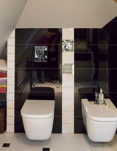 projektanci wnętrz B003 łazienka pomorze zachodnie Łazienka na Pomorzu Zachodnim