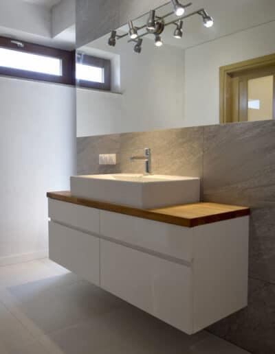 projektanci wnętrz C005 lazienka mieszkanie raszyn Nowoczesna łazienka w Raszynie