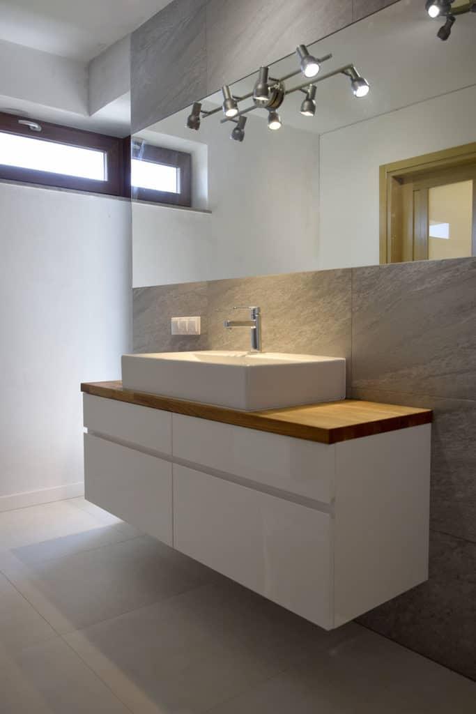 Nowoczesna łazienka wRaszynie