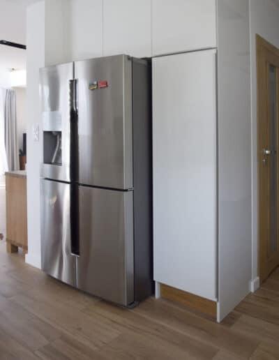 projektanci wnętrz D010 kuchnia mieszkanie raszyn Kuchnia mieszkanie w Raszynie