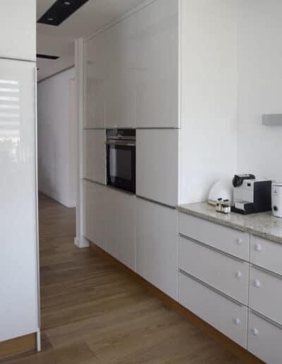 projektanci wnętrz D012 kuchnia mieszkanie raszyn Kuchnia mieszkanie w Raszynie