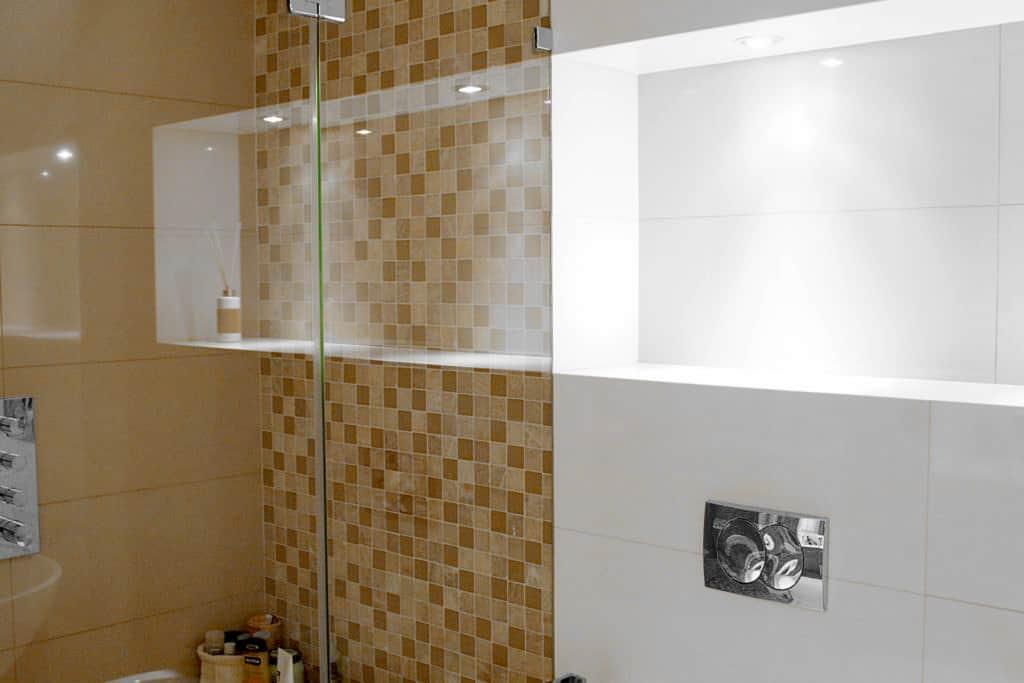 projektanci wnętrz Lazienka 04B Łazienka z klimatem na poddaszu