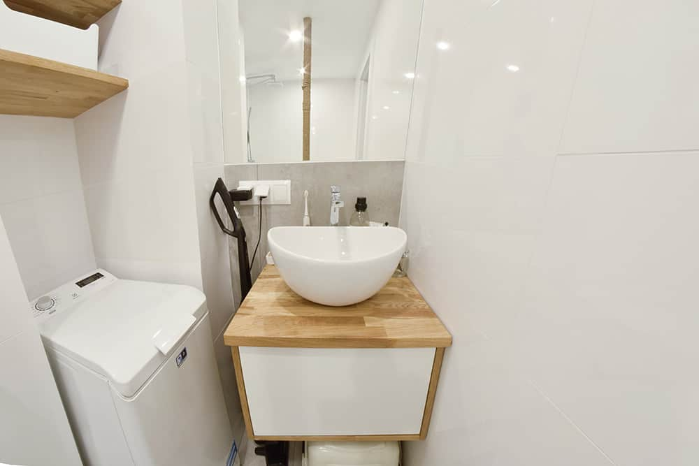 Łazienka mieszkanie Lotaryńska