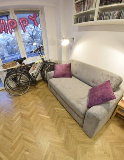projektanci wnętrz Mieszkanie Lotarynsaka pokoj 1d Pokój mieszkanie Lotaryńska
