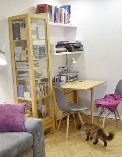 projektanci wnętrz Mieszkanie Lotarynsaka pokoj 1f Pokój mieszkanie Lotaryńska
