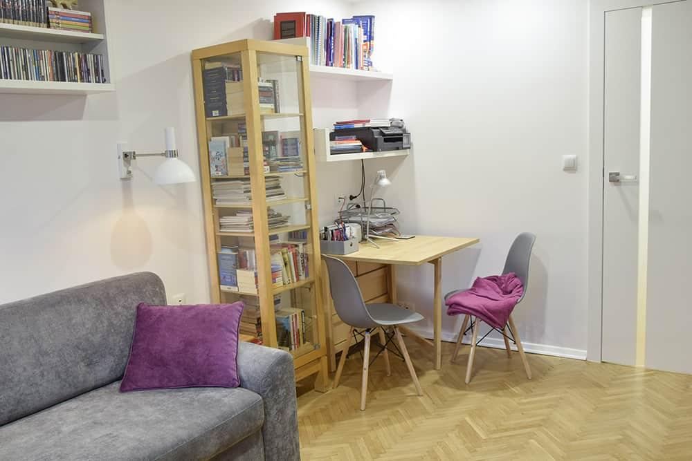 projektanci wnętrz Mieszkanie Lotarynsaka pokoj 1h Pokój mieszkanie Lotaryńska