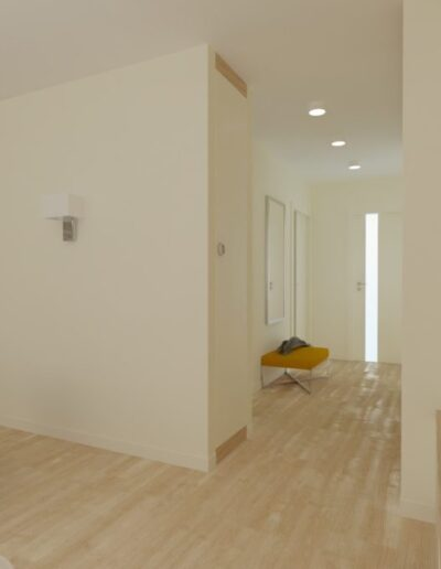 projektanci wnętrz Mieszkanie Ursynów 5A Salon z kuchnią Ursynów