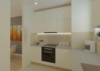 Salon z kuchnią Ursynów
