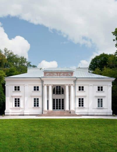 projektanci wnętrz Palac Cielesnica elewacja A001 Elewacja Pałac Celeśnica