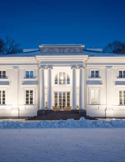 projektanci wnętrz Palac Cielesnica elewacja A002 Elewacja Pałac Celeśnica