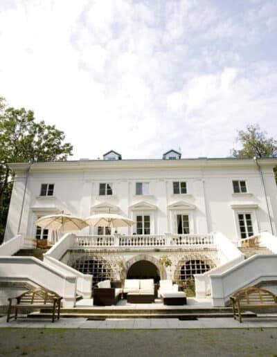 projektanci wnętrz Palac Cielesnica elewacja A005 Elewacja Pałac Celeśnica