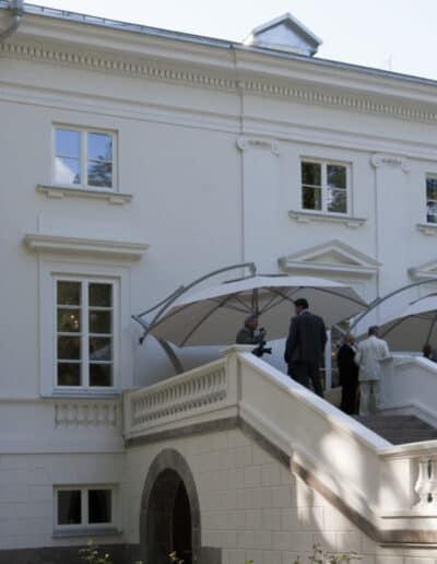 projektanci wnętrz Palac Cielesnica elewacja A008 Elewacja Pałac Celeśnica