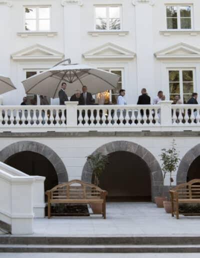 projektanci wnętrz Palac Cielesnica elewacja A009 Elewacja Pałac Celeśnica