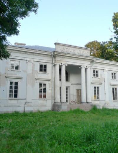 projektanci wnętrz Palac Cielesnica elewacja B002 Elewacja Pałac Celeśnica