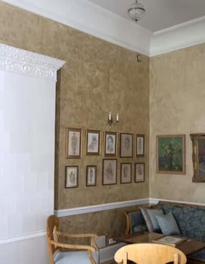 projektanci wnętrz Palac Cielesnica zlota salka 1B Złota salka Pałac Celeśnica