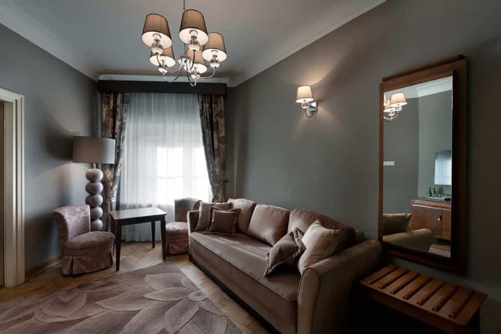 projektanci wnętrz Palac Cielesnica apartament classic 10A Apartamenty Classic Pałac Celeśnica