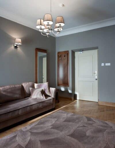 projektanci wnętrz Palac Cielesnica apartament classic 10C Apartamenty Classic Pałac Celeśnica