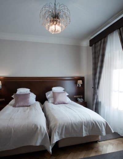 projektanci wnętrz Palac Cielesnica apartament classic 10D Apartamenty Classic Pałac Celeśnica