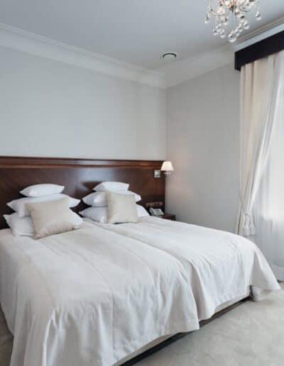 projektanci wnętrz Palac Cielesnica apartament deluxe 1D Apartamenty Deluxe Pałac Celeśnica