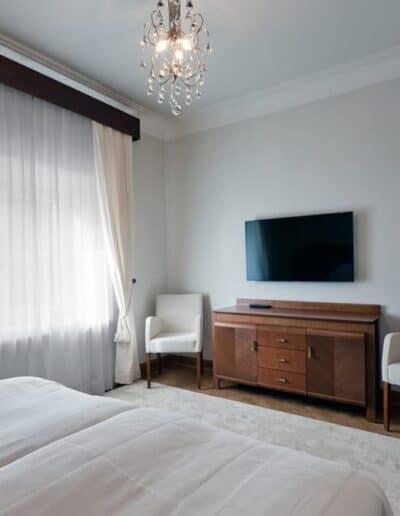 projektanci wnętrz Palac Cielesnica apartament deluxe 1E Apartamenty Deluxe Pałac Celeśnica