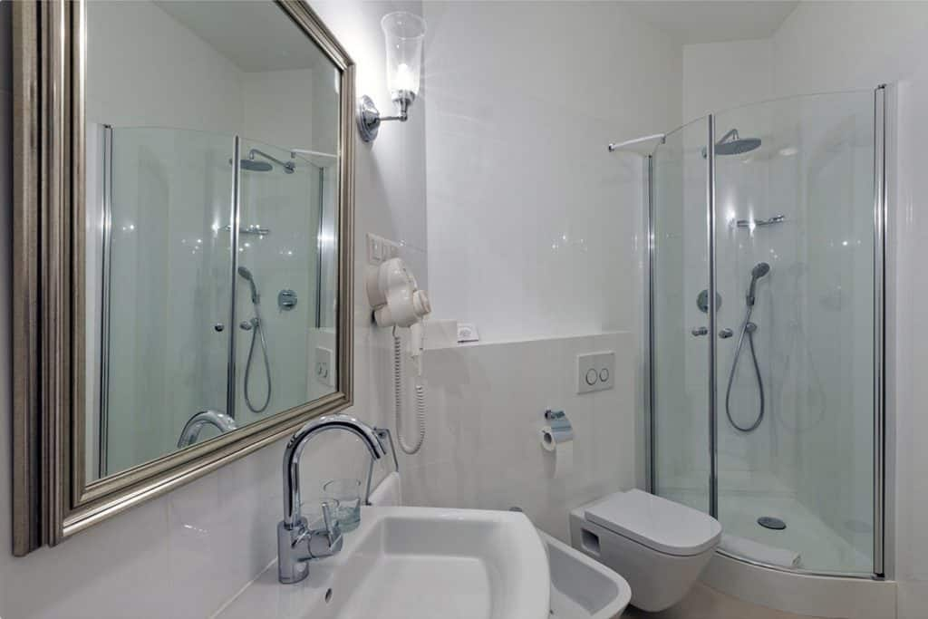 projektanci wnętrz Palac Cielesnica apartament deluxe 1G Łazienka Apartament Deluxe Pałac Celeśnica