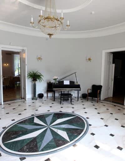 projektanci wnętrz Palac Cielesnica glowny hol A003 Główny hol Pałac Celeśnica