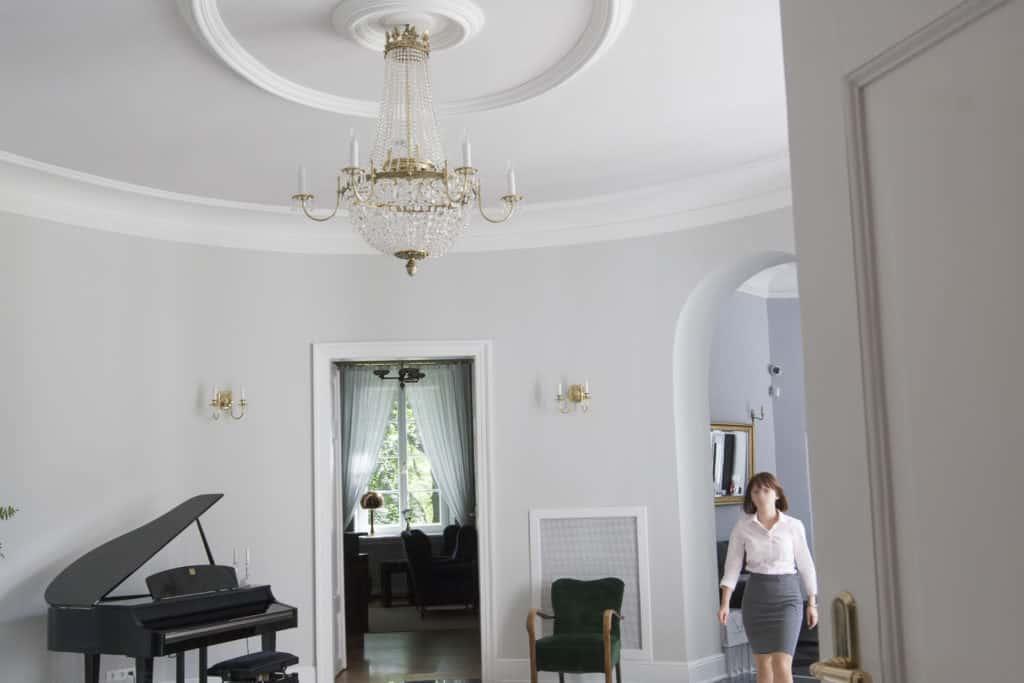 projektanci wnętrz Palac Cielesnica glowny hol A010 Główny hol Pałac Celeśnica