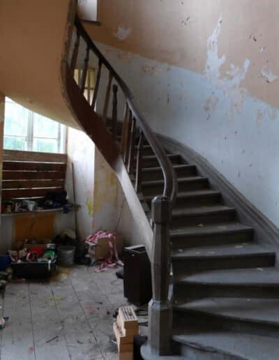 projektanci wnętrz Palac Cielesnica klatka schodowa B002 Klatka schodowa Pałac Celeśnica