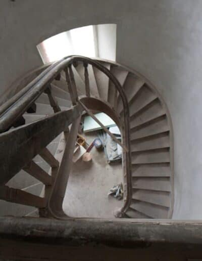 projektanci wnętrz Palac Cielesnica klatka schodowa B003 Klatka schodowa Pałac Celeśnica