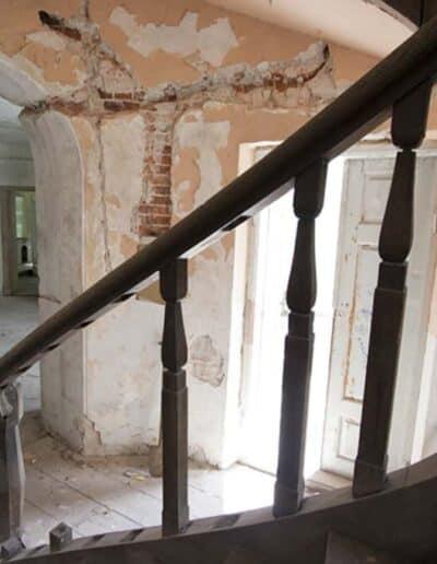 projektanci wnętrz Palac Cielesnica klatka schodowa B006 Klatka schodowa Pałac Celeśnica