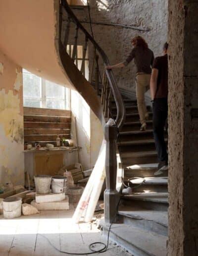 projektanci wnętrz Palac Cielesnica klatka schodowa B008 Klatka schodowa Pałac Celeśnica