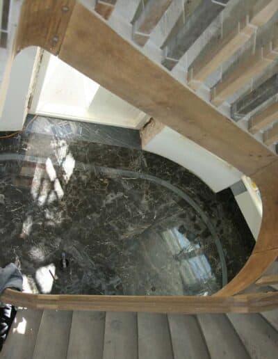 projektanci wnętrz Palac Cielesnica klatka schodowa B010 Klatka schodowa Pałac Celeśnica