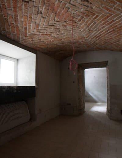projektanci wnętrz Palac Cielesnica piwnice remont A006 Pomieszczenia piwniczne Pałac Celeśnica