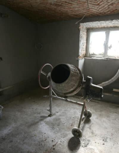 projektanci wnętrz Palac Cielesnica piwnice remont A009 Pomieszczenia piwniczne Pałac Celeśnica