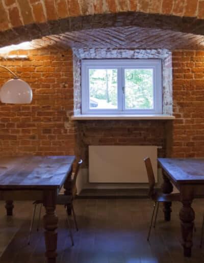 projektanci wnętrz Palac Cielesnica pomieszczenia piwniczne 1E Pomieszczenia piwniczne Pałac Celeśnica