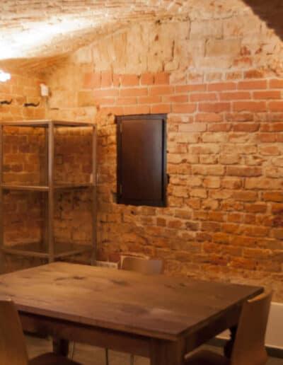 projektanci wnętrz Palac Cielesnica pomieszczenia piwniczne 1H Pomieszczenia piwniczne Pałac Celeśnica