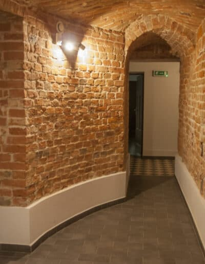 projektanci wnętrz Palac Cielesnica pomieszczenia piwniczne 1I Pomieszczenia piwniczne Pałac Celeśnica