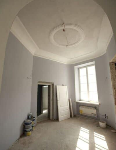 projektanci wnętrz Palac Cielesnica recepcja B1 Hol z łazienką Pałac Celeśnica