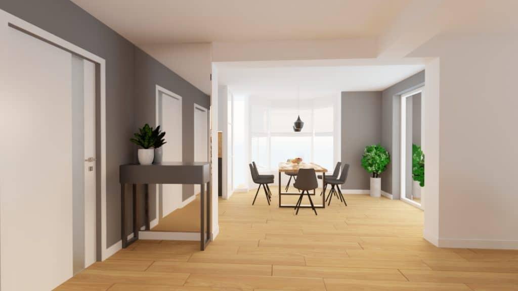 projektanci wnętrz dom nadarzyn salon 1e Dom Nadarzyn salon