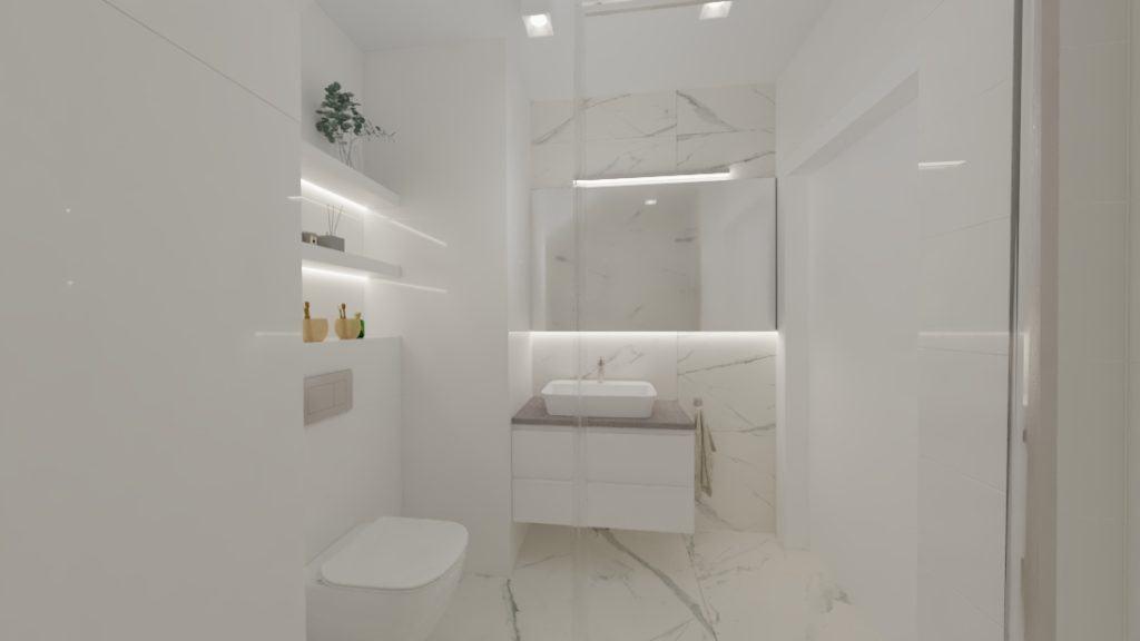 projektanci wnętrz lazienka goscinna dol 1b Mała łazienka dla gości