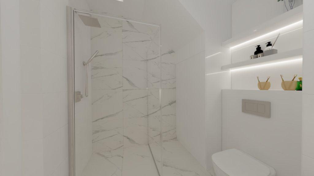projektanci wnętrz lazienka goscinna dol 1c Mała łazienka dla gości