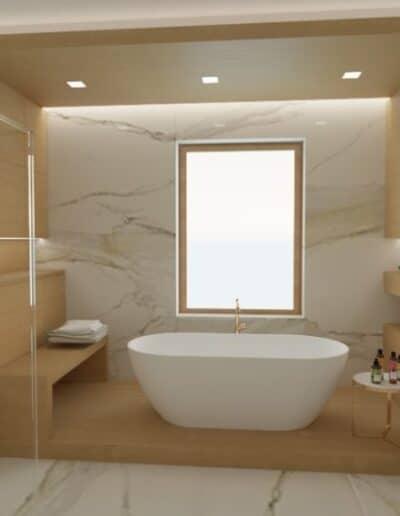 projektanci wnętrz lazienka salon kompielowy 1a Łazienka jako salon kąpielowy