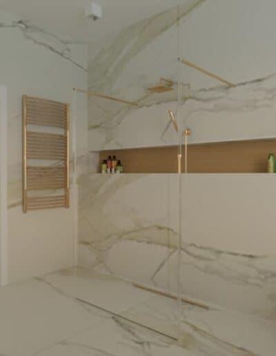 projektanci wnętrz lazienka salon kompielowy 1c Łazienka jako salon kąpielowy