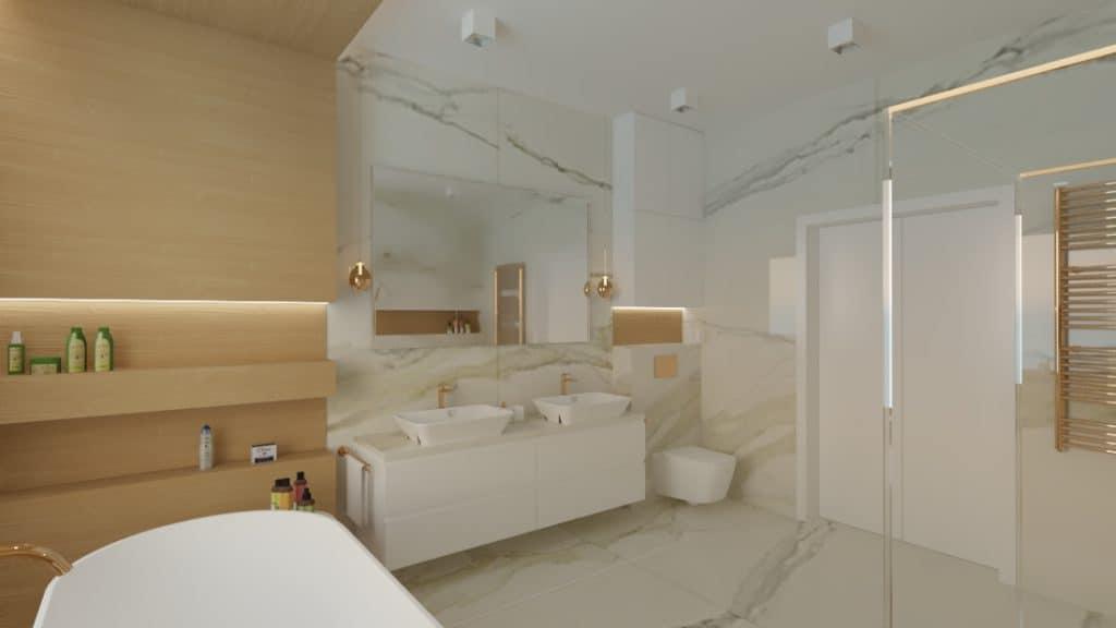projektanci wnętrz lazienka salon kompielowy 1e Łazienka jako salon kąpielowy