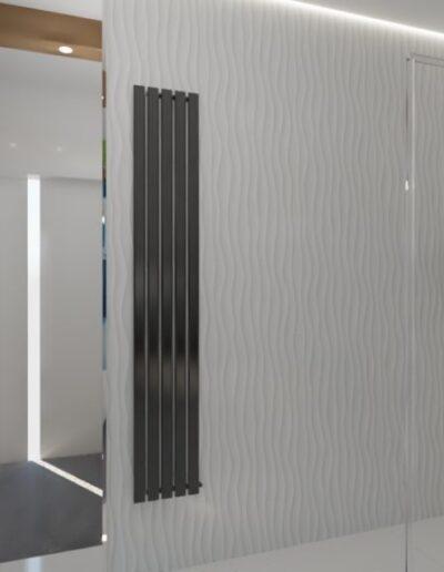 projektanci wnętrz lazienka z lustrem i wodospadem 1d Łazienka z wodospadem