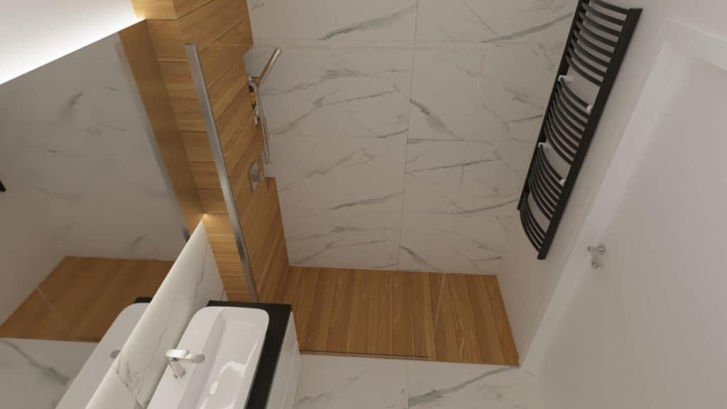 projektanci wnętrz lazienka z prysznicem goclaw 1e Łazienka z prysznicem na Gocławiu