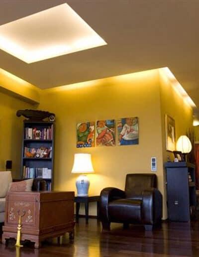 projektanci wnętrz mieszkanie na warszawskim mokotowie 002 Mieszkanie na Mokotowie Kuchnia z Salonem