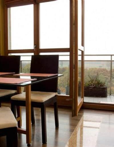 projektanci wnętrz mieszkanie na warszawskim mokotowie 004 Mieszkanie na Mokotowie Kuchnia z Salonem
