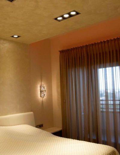 projektanci wnętrz mieszkanie na zoliborzu sypialnia 1A Sypialnia warszawski Żoliborz